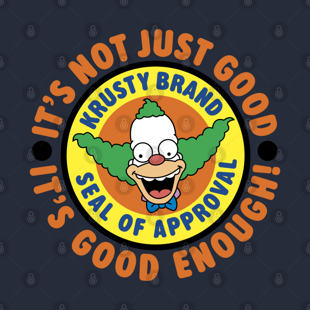 Krusty Brand Seal