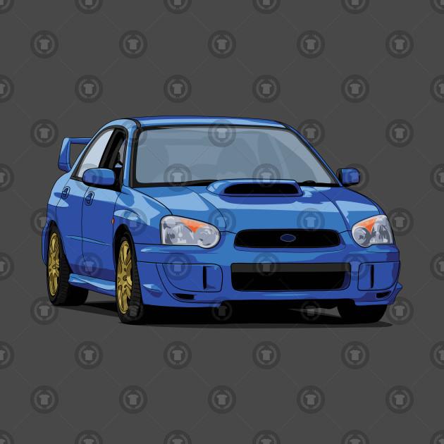 Subaru Impreza WRX STI blobeye gdb