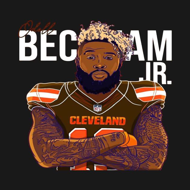 new product 277a2 0708b Odell Beckham Cleveland Browns