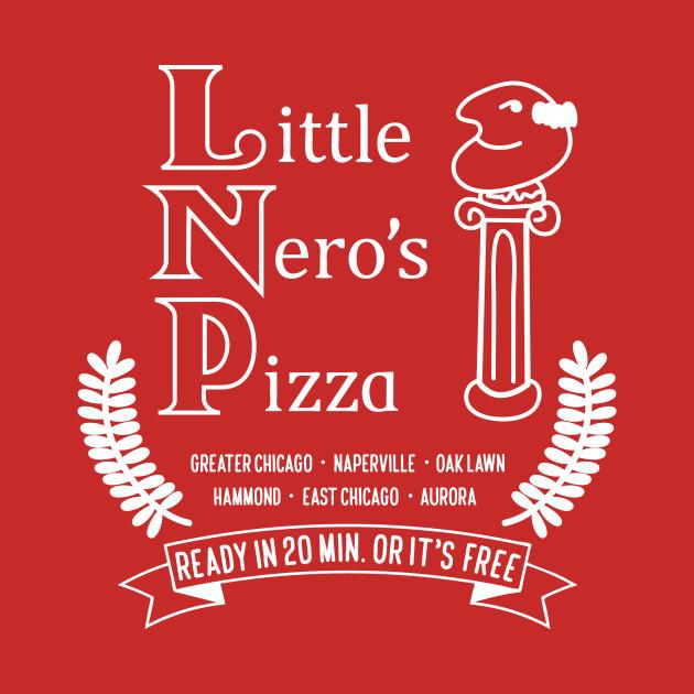 Little Nero's Pizza (Dark tees)