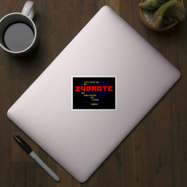 Repo The Zydrate Lyrics Repo The Genetic Opera Sticker Teepublic