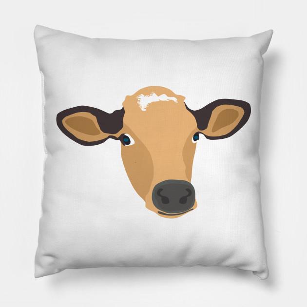 Cow Face Vector Sketch