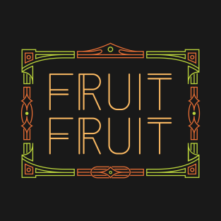 Fruit Fruit Couple's Shirt