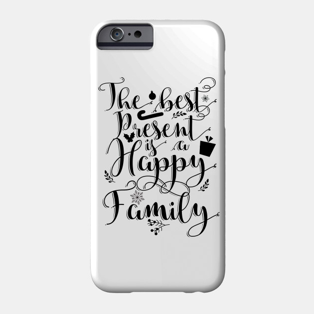 Christmas quotes I Christmas gift ideas Phone Case