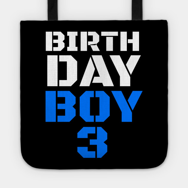 Birthday Boy 3 3rd Tee Boys