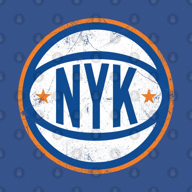 NYK Retro Ball - Blue
