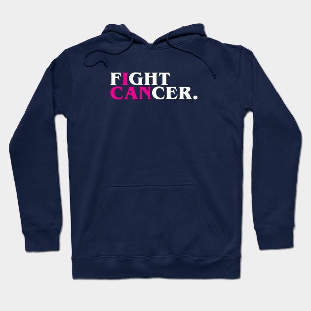 Fight Cancer (I Can), Pink Hoodie