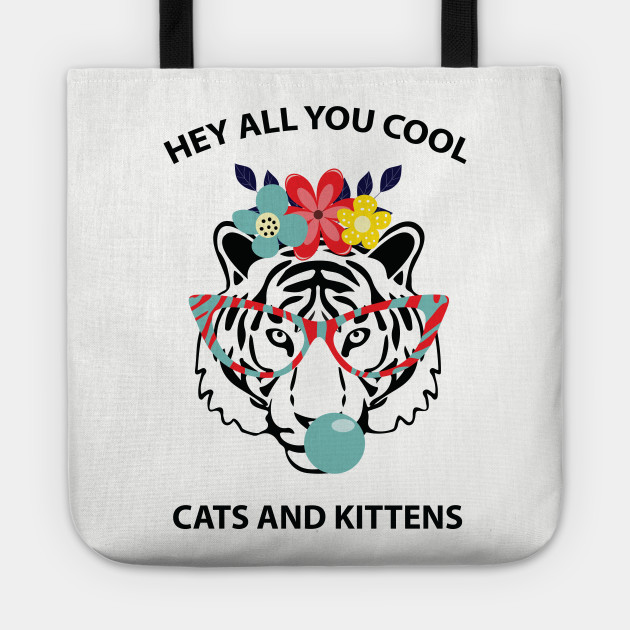 TIGER KING CAROLE BASKIN HEY ALL YOU COOL CATS KITTENS ADULTS /& KIDS HOODIE