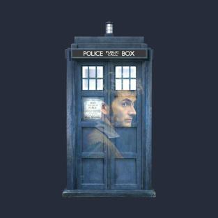 10 and his TARDIS