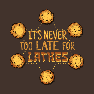 Latkes Time t-shirts