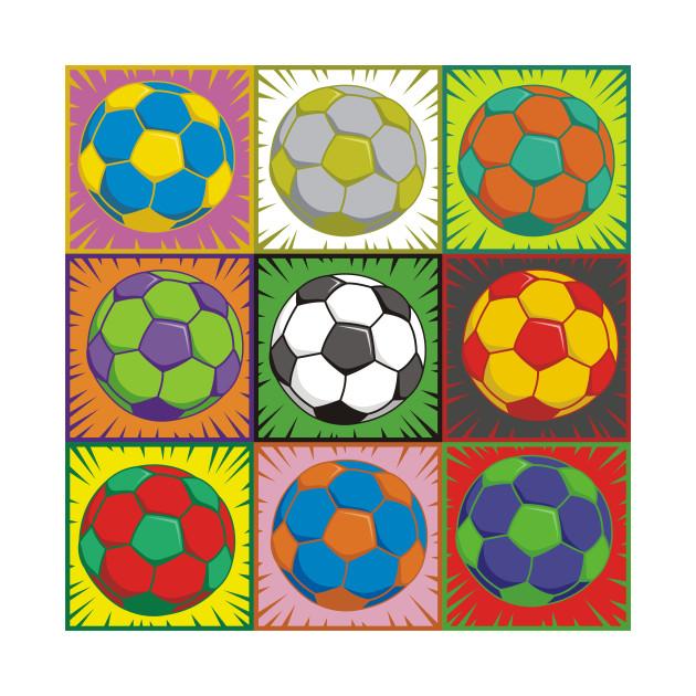 Soccer (Football) Pop Art