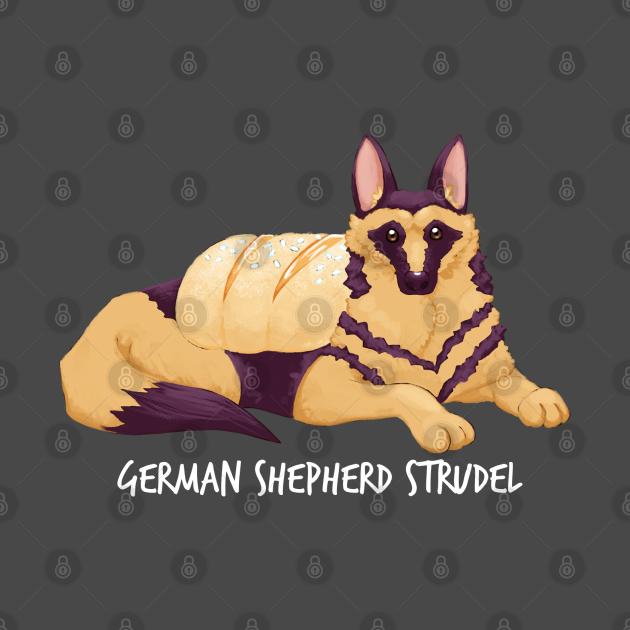 German Shepherd Strudel