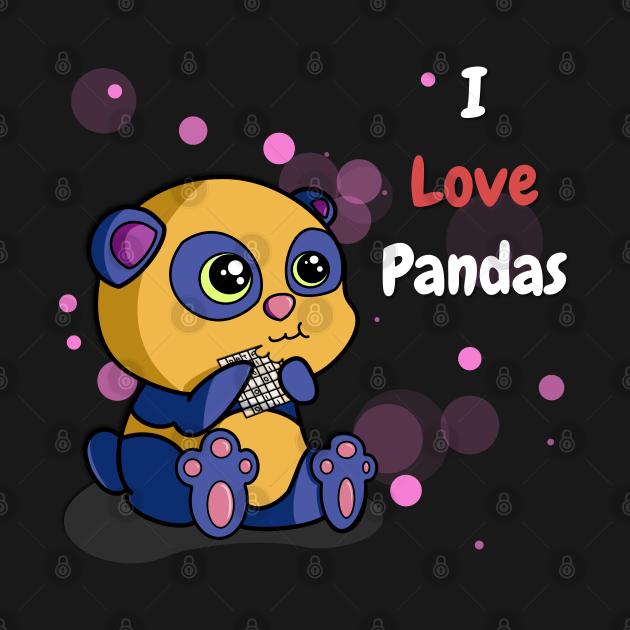I Love Pandas | Python Dawn White