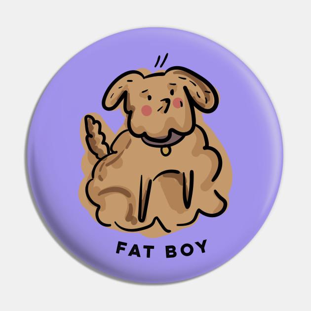 Fat Boy // Dog illustration