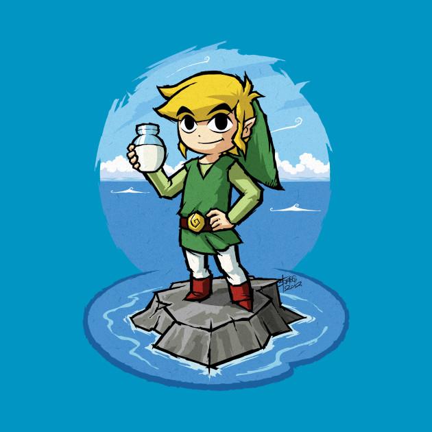 Zelda Wind Waker Bottle of Milk