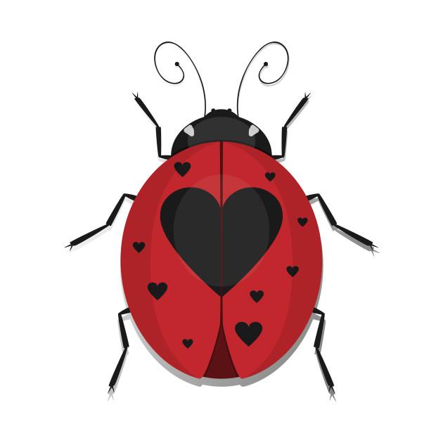 Heart Spotted Ladybug