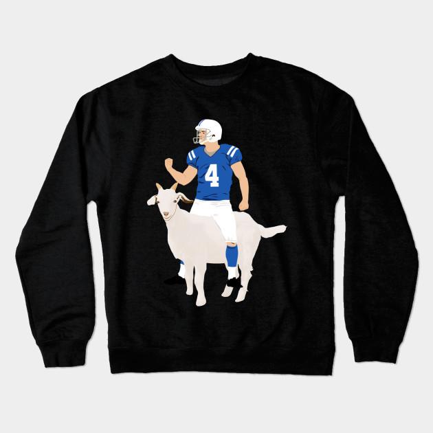 Vinny Goat - Adam Vinatieri - Crewneck Sweatshirt  3b9258033