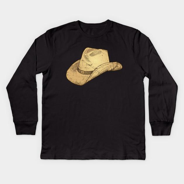 ec0828818 Vintage Retro Western Cowboy Hat Distressed Rodeo