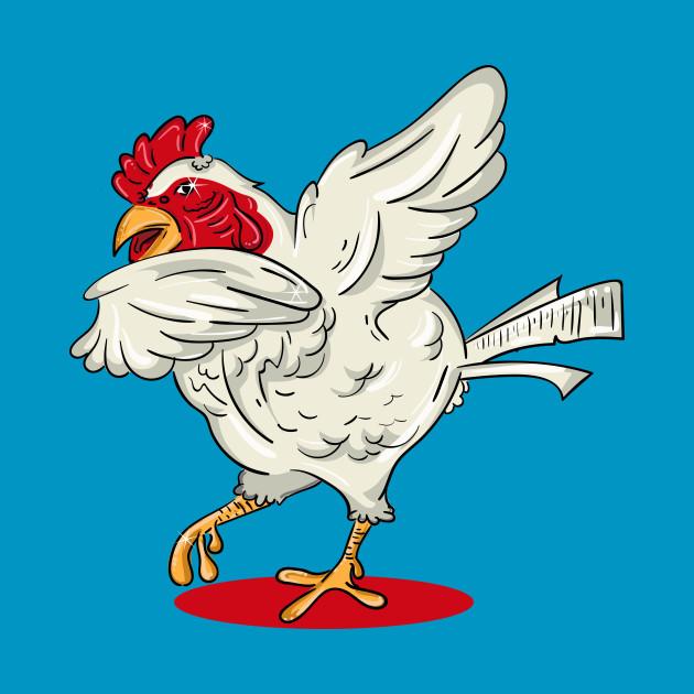 dabbing dancing chicken funny dabbing animal gift dabbing t