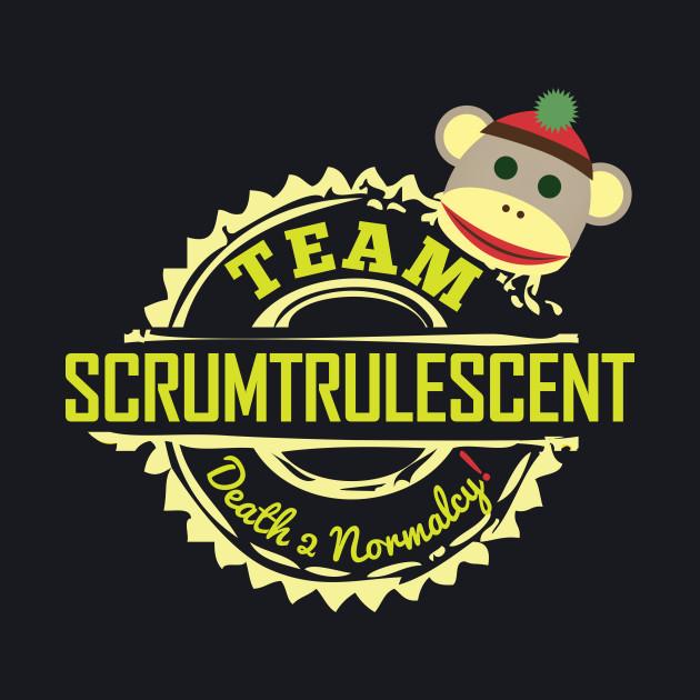 Team Scrumtrulescent (Dark Tshirt)