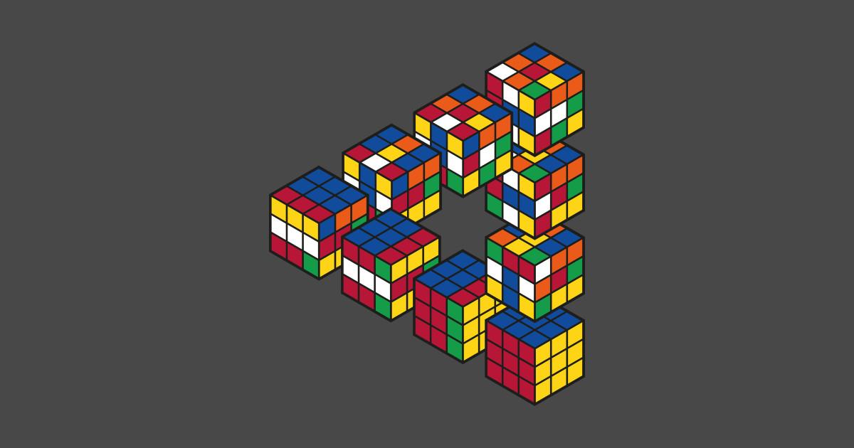 Penrose Triangle Cubes Rubiks Cube Penrose Tr...