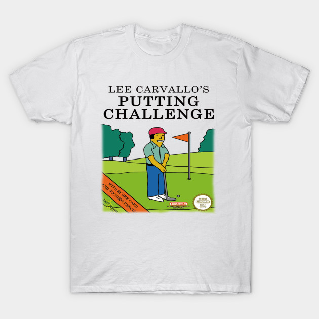 Lee Carvallo's Putting Challenge T-Shirt-TOZ