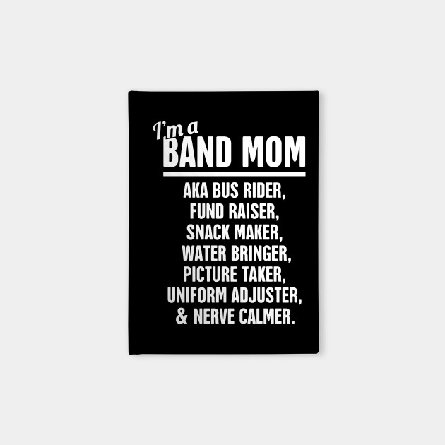 38f608242 Funny Marching Band Mom - Marching Band - Notebook | TeePublic