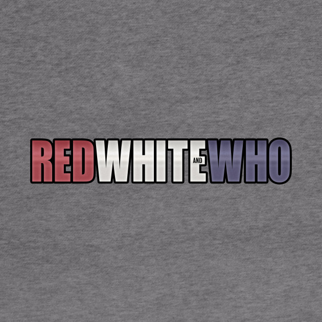 Red White and Who Logo