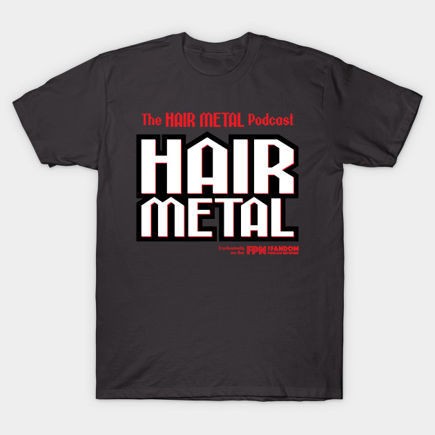 Hair Metal Heavy Black