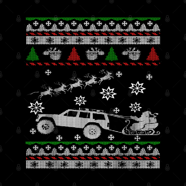 XJ Ugly Christmas Sweater