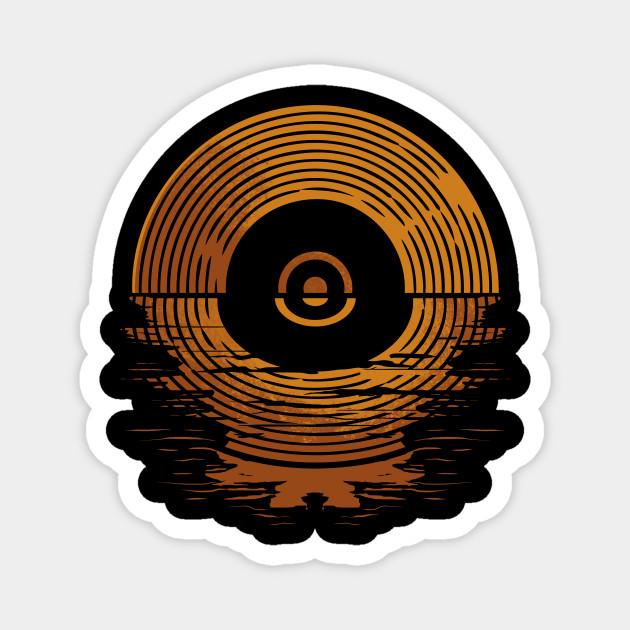 Retro Vinyl Disc LP Records
