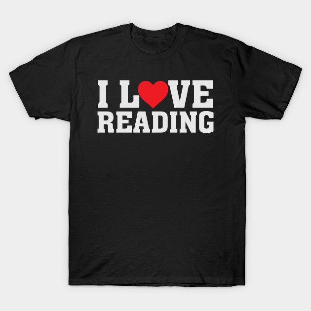 I Love Heart Reading T-Shirt