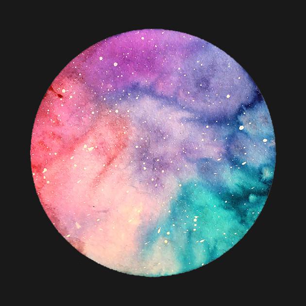 Watercolor Tiny Nebula #1