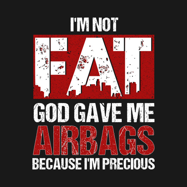72ac365425b ... I m Not Fat God Gave Me Airbags Because I m Precious