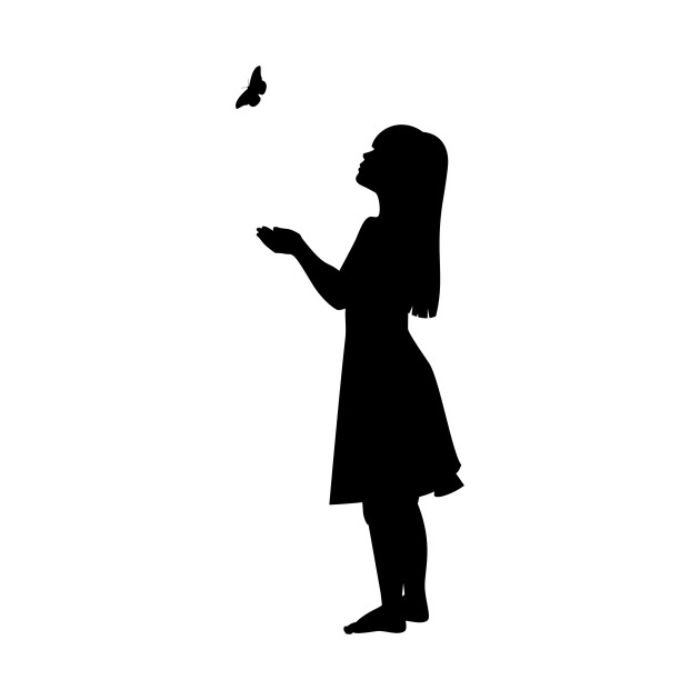 Little Girl Silhouette Looking Up | www.pixshark.com ...