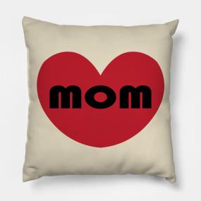Pink Heart Emoji Pillows | TeePublic