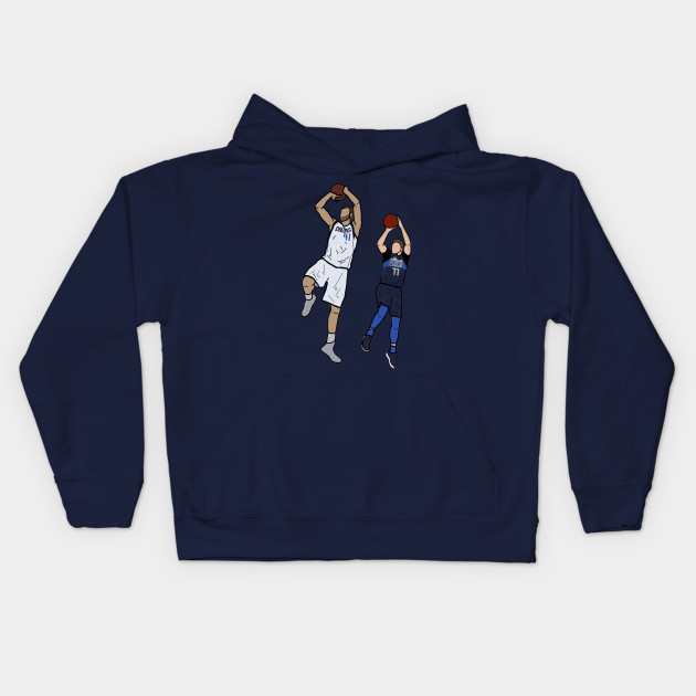 Dirk Nowitzki x Luka Doncic Signature One Leg Fadeaway - Dallas Mavericks