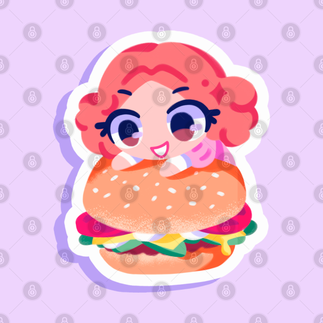 Haru Okumura burger