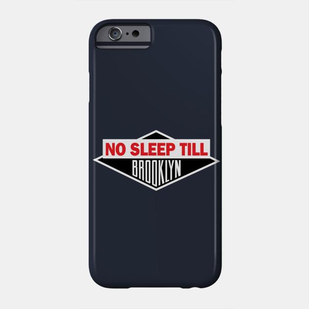 Navy No Sleep Till Brooklyn Tee Shirt