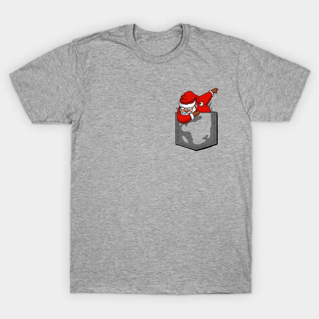 Image result for christmas pocket t-shirt