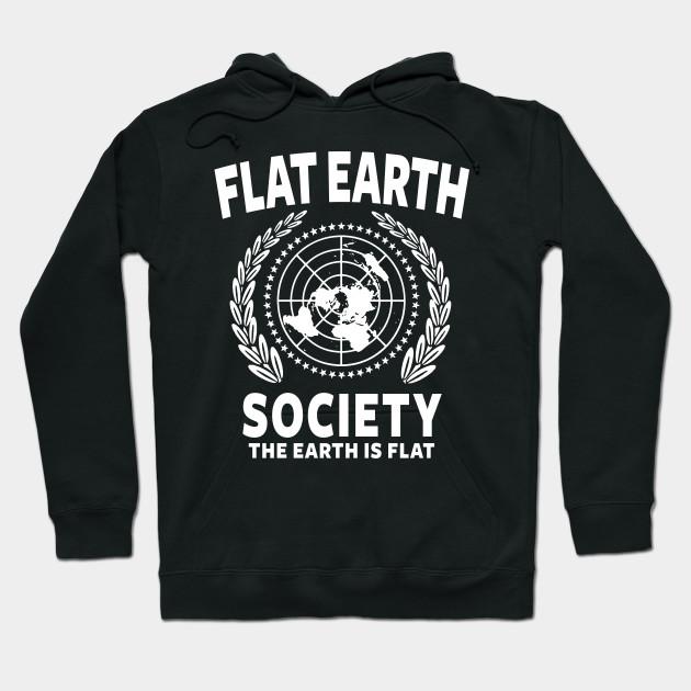 Flat Earth Shirt Day Shirt Decal Flat Earther Blend Hoodie