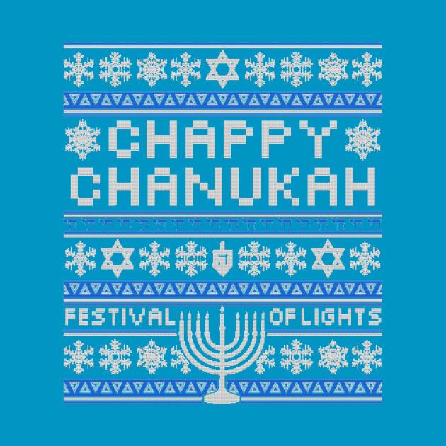 Chappy Chanukah Sweater