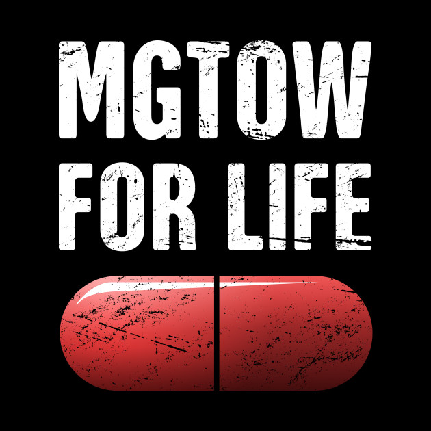 MGTOW For Life | Red Pill - Mgtow - Tapestry | TeePublic