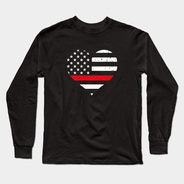Thin Red Line St Patricks Day Firefighter Gift for Men Sweatshirt