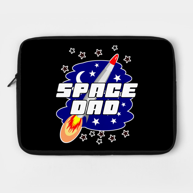 Aeronautics Galaxy Rocket Daddy Papa Gift Space Dad Father's Day