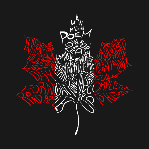 LEAF THE TRAGICALLY HIP LOGO