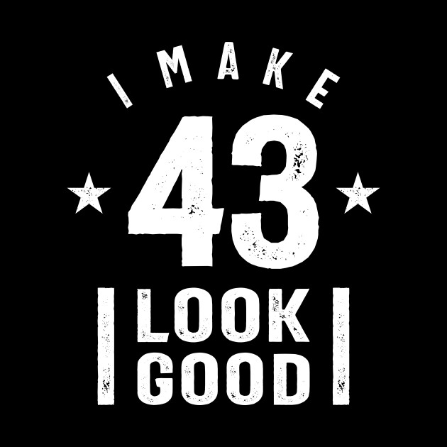 43 Year Old Gift | 43rd Birthday Gift Ideas - Mens and Womens