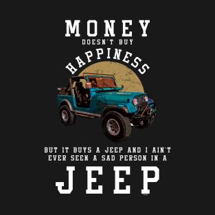 Main Tag Jeep Lovers T Shirt