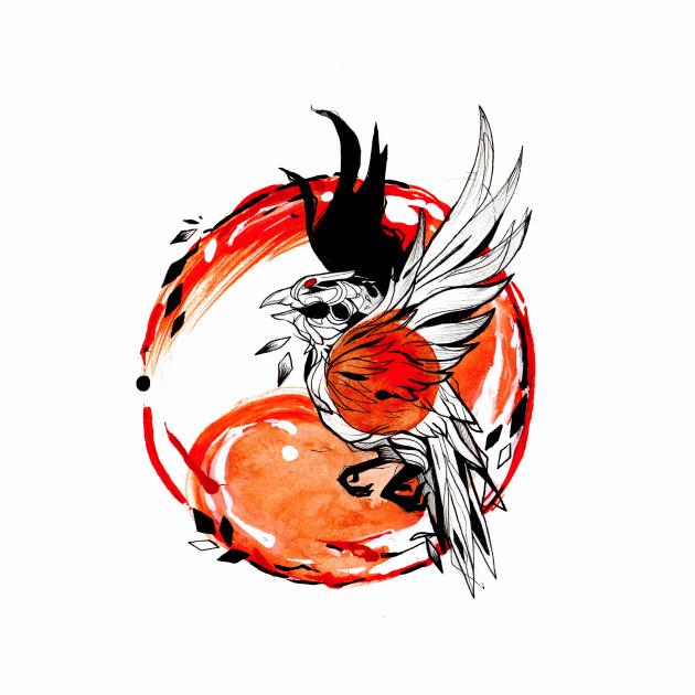 Phoenix Inktober