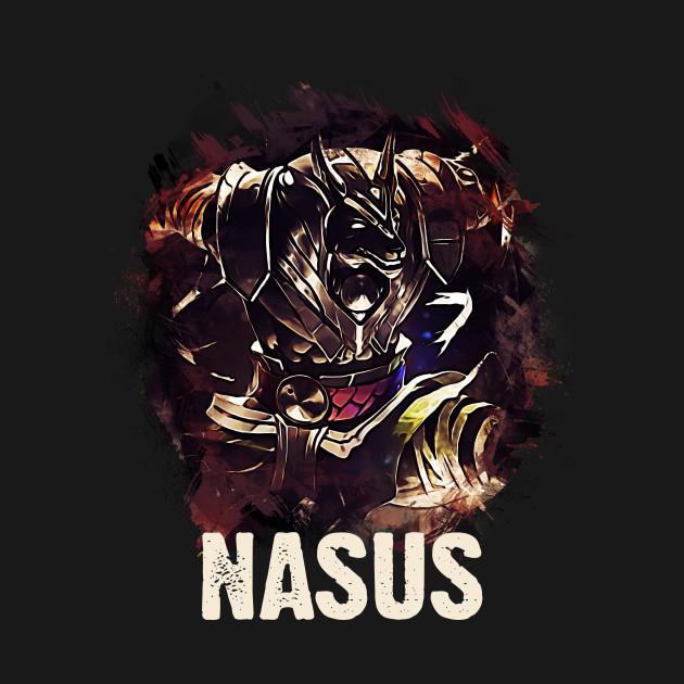 League Of Legends Nasus League Of Legends T Shirt Teepublic